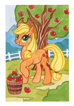 Applejack by Kamirah