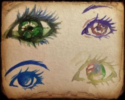 eyes by trikoloma