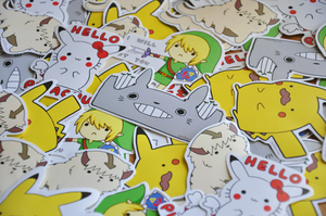 Stickers by pikarar