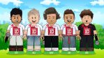 1D One Direction Lego vector by akyanyme