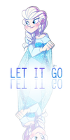 Let It Gooooo by GusDraws
