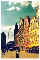 wroclaw by strangelight