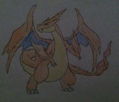 Charizard Time! by Konggers