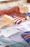 APH - Sleeping In by Hetalia-Canada-DJ