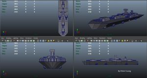 UTF-101 Battleship by TacticianMark