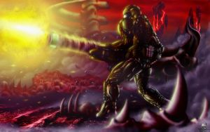 DOOM - The Unchained Predator by Unreal-Forever