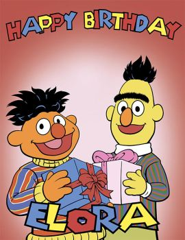 Bert and Ernie by Marvelousboy