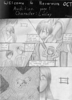 WtN Audition pg1 by VickyViolet