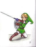 Link by LOZ-Elisrilianfan