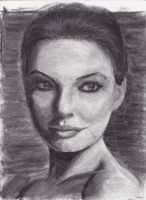 portrait study in charcoal by CaliforniaClipper