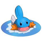 Mudkip :D by i-AfroBoy