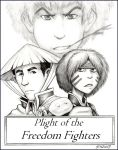 Plight of the Freedom Fighters by SioUte