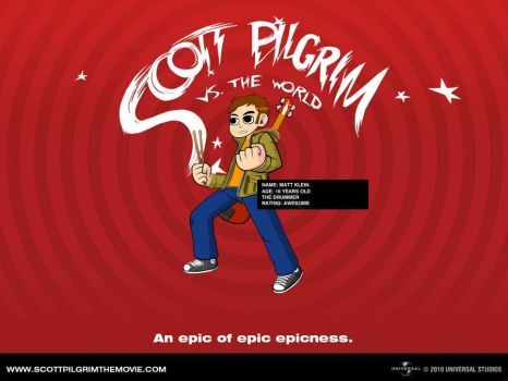 I've been Scot Pilgrim-ed by ILiveforFallout