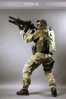 Combat Soldier STOCK VI by PhelanDavion