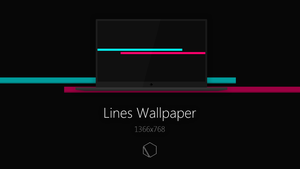 Lines Wallpaper by TheButterCat
