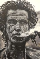 Keith richards by FDupain