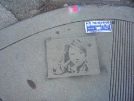 Graffiti Stencil by Lullabeyes