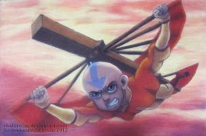 Aang by ChalkTwins