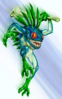 World of Warcraft - Murloc by Isra2007