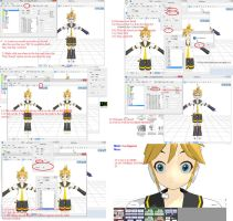 [MMD] Simple Facial Tutorial PMD editor by BloodyRose11