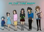 I did the Time Warp guise by Russian-Standard