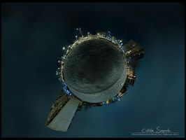 Tiny planet - PtGui version by vxside