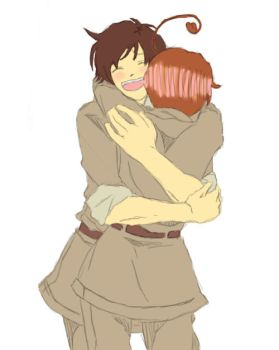 Request 2: Romano and Spain by ask--prussia