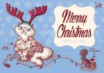 Merry Christmas 2014 from my pets! by dadachan87