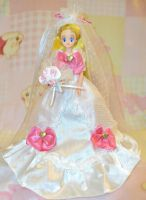 Sailor Moon Wedding Moon Doll by aleena