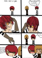 Death Note Comic - Feel like a girl. by Crystal-of-Nightmare