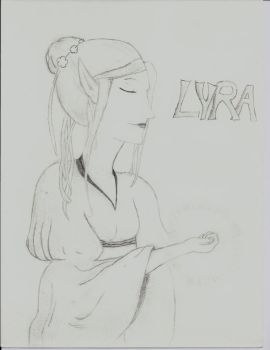 Lyra, of {Silver Glass} by Mariaoc by Veylins