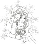 Jack and Elsa - made to be together by signsamanta