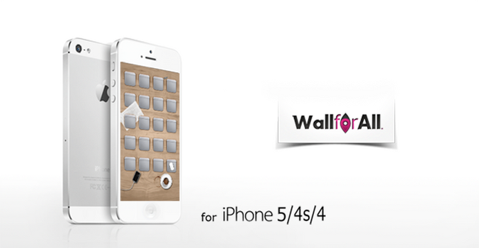 iDesk hd wallpaper for iPhone 5/4s/4 by WallforAll