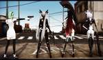 -MMD- Deadly Viper Assassination Squad by WonderWhimsi
