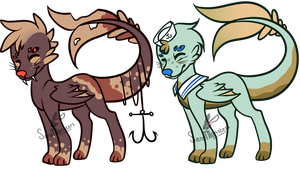First Dragua Adopts by SecretMonsters