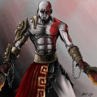 Kratos by Mihawq