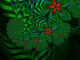 Living in a Spiral Jungle by janinesmith54