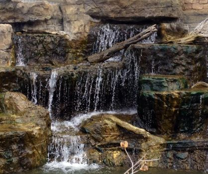 Manmade Mini-Falls by SharonStitches