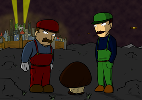 Just another Mario Bros. drawing by UltimateHammerBro
