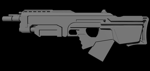 New Rifle Concept - 2 by Jon-Michael-May