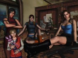 Resident evil wallpaper 21 by ethaclane