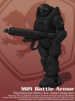 M21 Battle Armor by thomasthecat