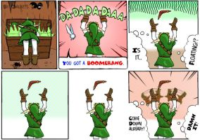 TLOZ: Boomerang - 1 and 2 by Salevits