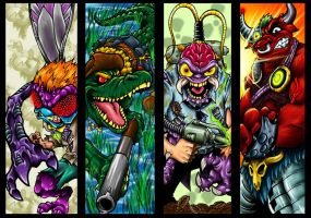TMNT Villians 2 by Dreekzilla