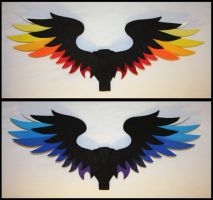Sun and Moon Wings by CraftyWingy