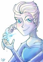 Elsa by Giant-cheeseburger