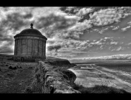 Mussenden Temple HDR by Dave-D