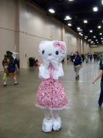 Hello kitty Cosplay. by PSOWILL