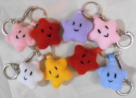 Twin Star Keychains by AngelBless