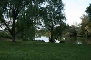 Lake scene 3 by AmbiePetals-Stock